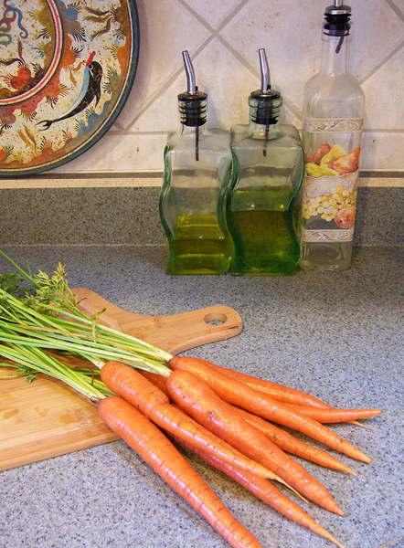 Carrots: Carrots fresh from the garden