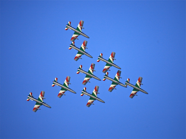 Flying circus: Frecce tricolori