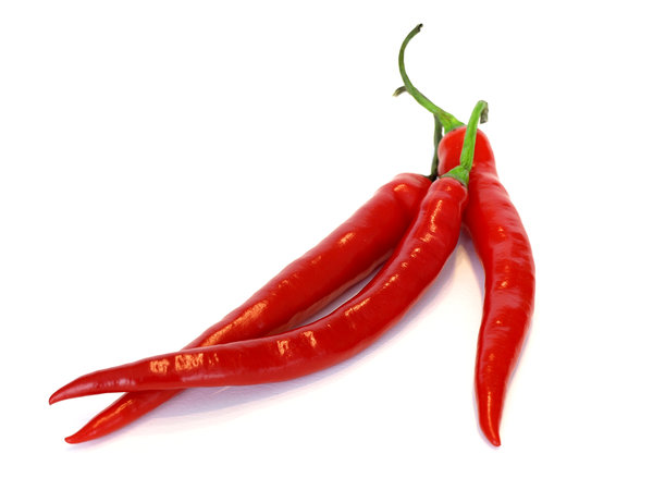 peppers: hot red peppers