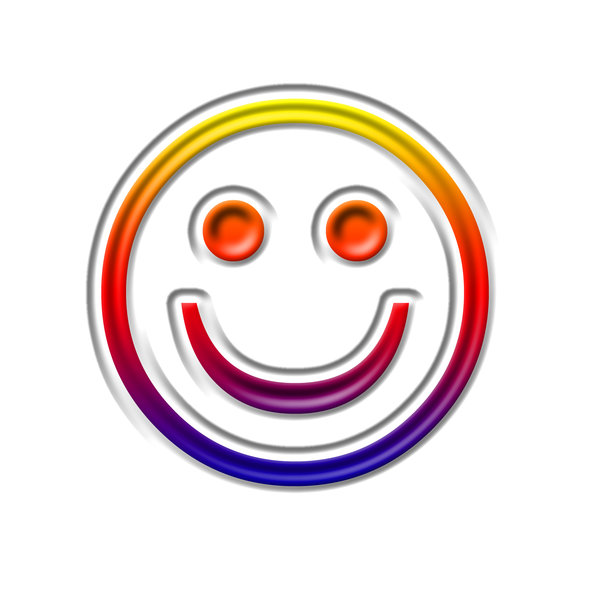 Smile emoticon 4: Happy pictogram
