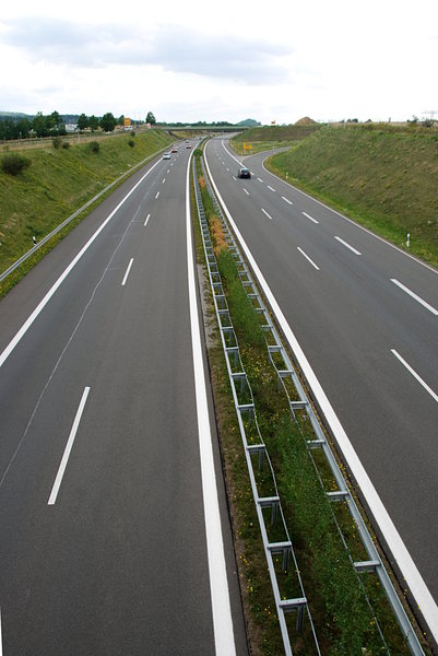 Expressway in Germany 2