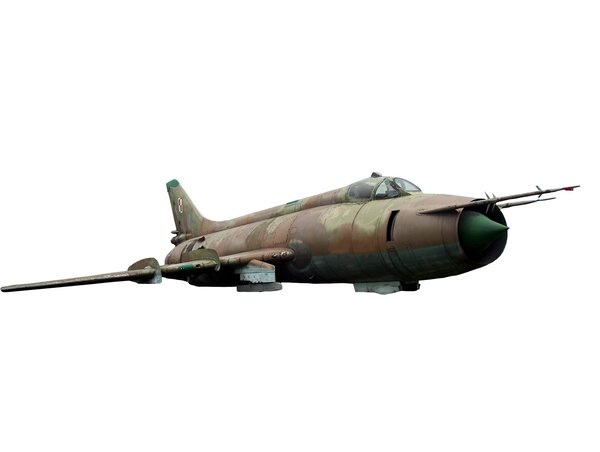 Old russian jet fighter  from