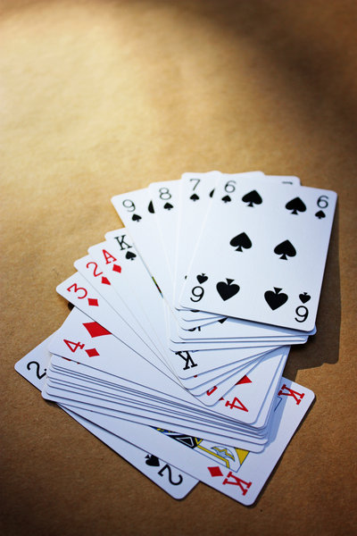 The Deck: Life is likened to a hand of cards.  Here is a new deck - ready for play