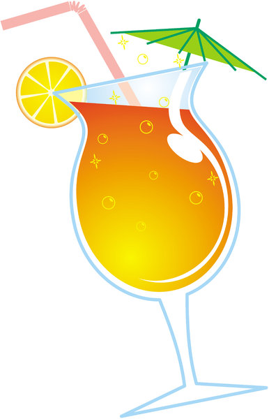 cocktail: cocktail, drink, tropical, cooler, summer, citrus, juice