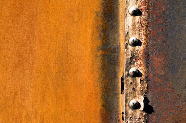 Boxcar textures 3: Textures from an old abandoned metal boxcar.