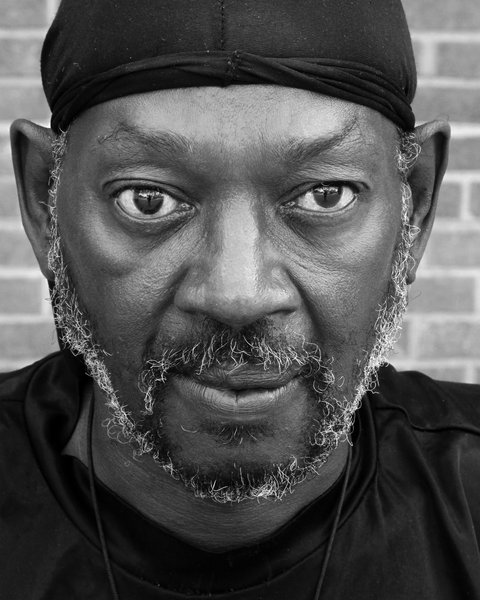 Portrait 541: Portrait of middle aged man of color