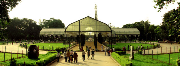 Green house: This is shot at Lalbagh, Bangalore (India)