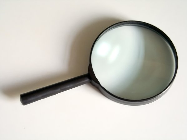 Magnifying glass: ...