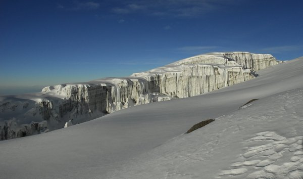 South Glacier of Kilimanjaro