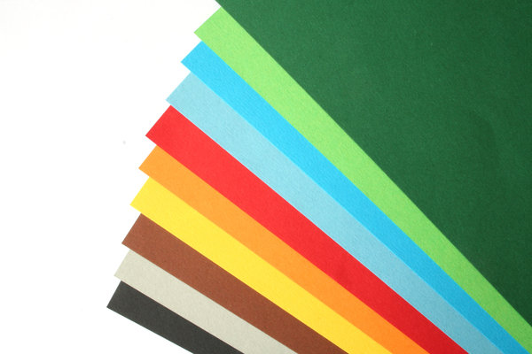 paper: coloured paper
