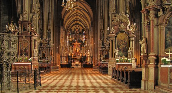 Cathedral: St. Stephen's Cathedral, Vienna