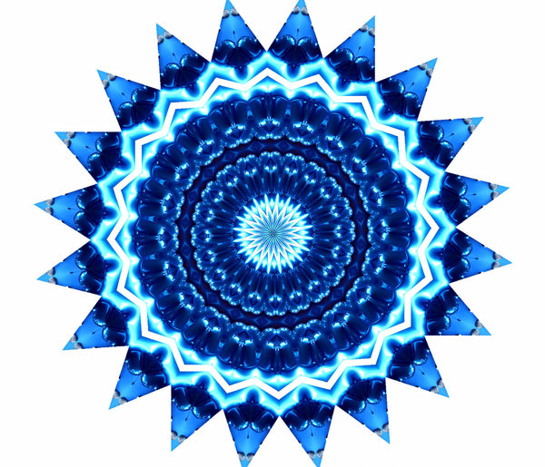 blue star radiating: abstract backgrounds, textures, patterns, geometric patterns, kaleidoscopic patterns, circles, shapes and  perspectives from altering and manipulating image