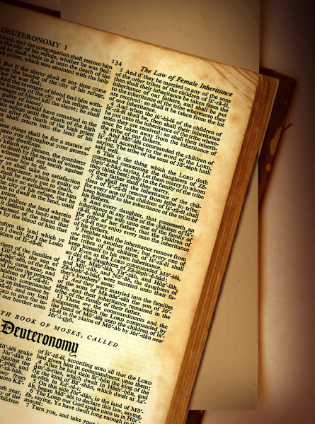 Deuteronomy: The book of Deuteronomy fromThe Old Testament.Please support my workby visiting the sites wheremy images can be purchased.Please search for 'Billy Alexander'in single quotes atwww.thinkstockphotos.comI also have some stuff atwww.dreamstime.com/Billyruth03