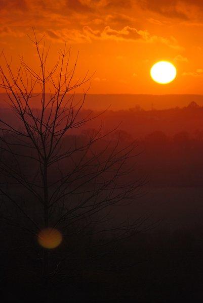 Citaten Over Zonsondergang : Winter zonsondergang over reeks van h gratis stock foto