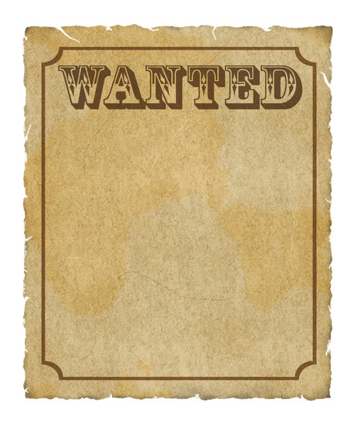 Wanted Poster: