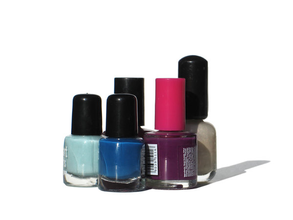 kolorowe nailpolishes: