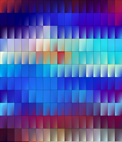 rainbow rectangles: abstract backgrounds, textures, patterns, geometric patterns, shapes and perspectives from altering and manipulating images