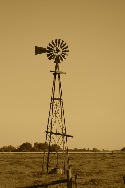 Windmill: Windmill in the country