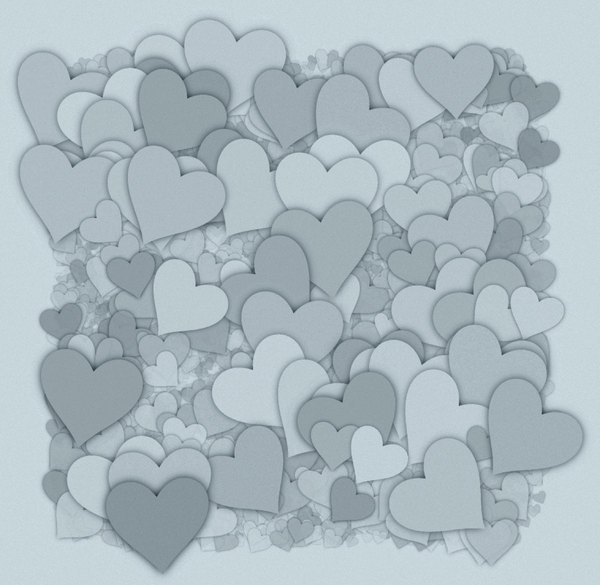 Hearts Texture 8: A 3d cluster of decorative hearts which makes a great texture, fill, stand-alone image or background. You may prefer:  http://www.rgbstock.com/photo/o2hOn0A/Hearts+Texture+3 or:  http://www.rgbstock.com/photo/mQb7kDi/Lots+of+Hearts+5