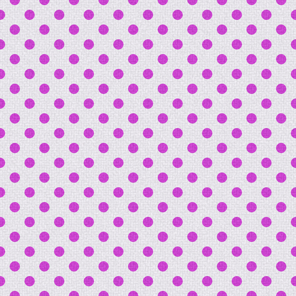 Polka Dots on Texture 6: Bright polka dots on textured ackground. Could be cloth or textile, background or fill.