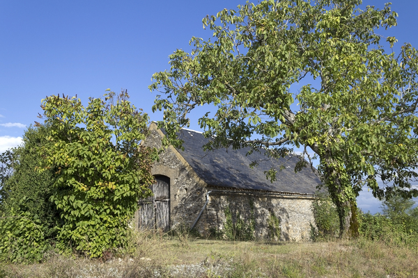 Old barn: An old barn in the Dordogne, France.