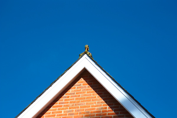 House roof gable