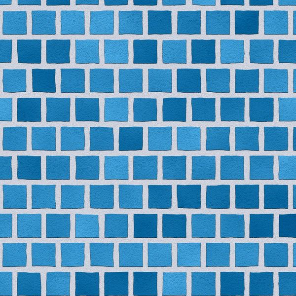 blue block background
