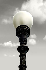 Light Pole: Ancient light pole