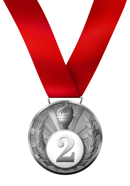 Medal 2: Gold, silver and bronze medals.