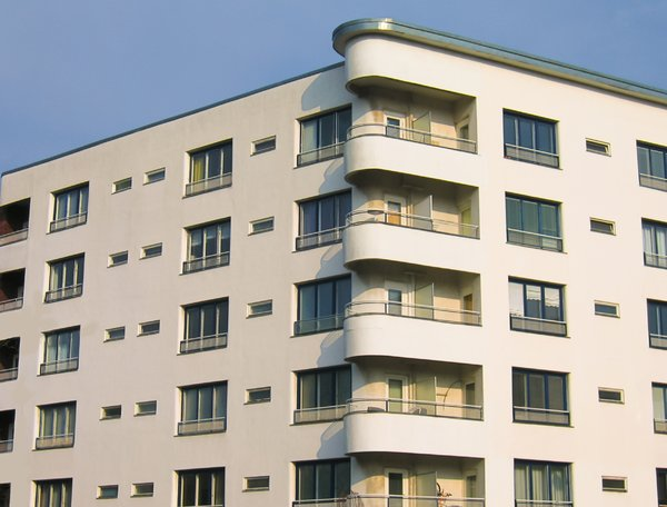 apartments and balconies: apartments and balconies