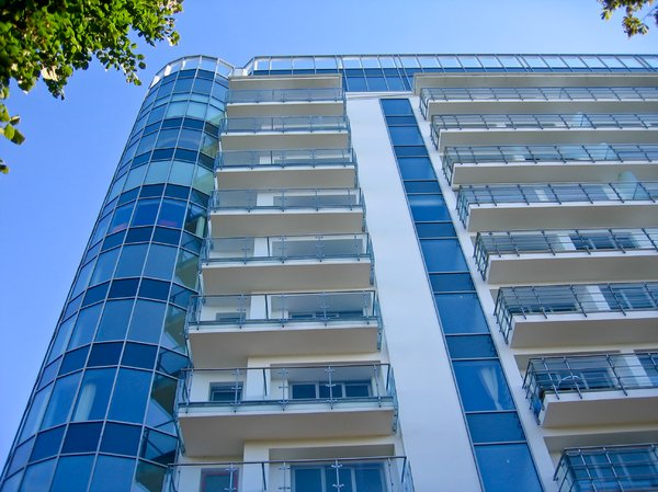 Poland Modern Apartment Building In Miedzyzdroje