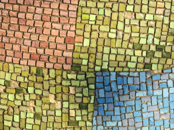 colourful mosaic stone texture: colourful mosaic stone texture