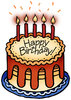 Birthday Cake 2: Birthday cake with and without color.For Hi Res visit:http://www.stockxpert.com ..