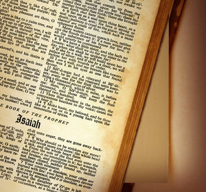Isaiah: The book of Isaiah from The Holy Bible.