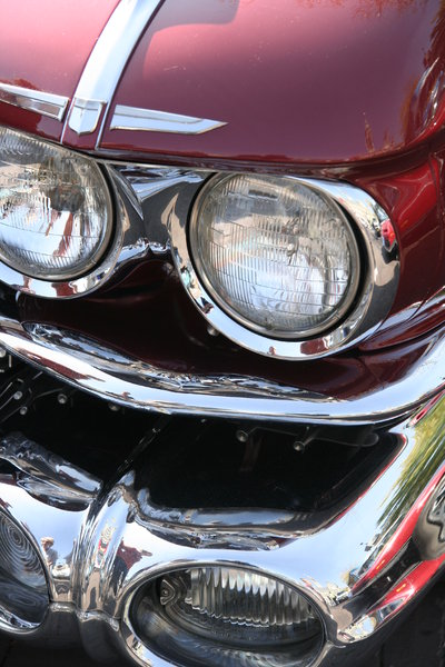 old timers: old classic cars detail