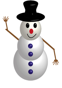 traditional snowman 3: traditional snowman