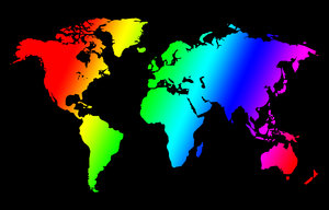 coloured world: coloured world