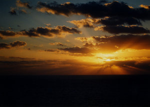 sunset on the sea 2: sunset on mediterranean's sea