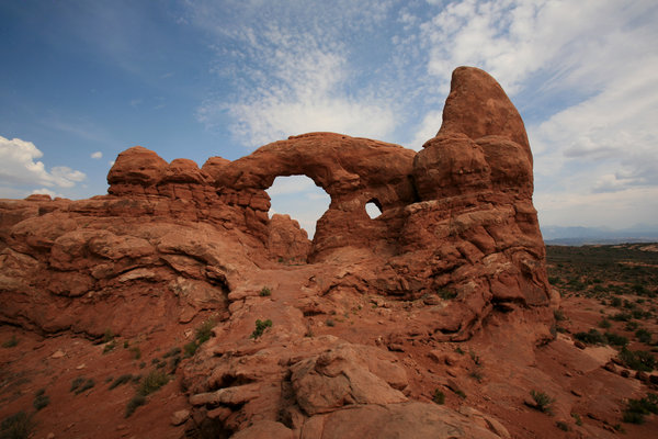 Arches 3: landscape of Arches National Park