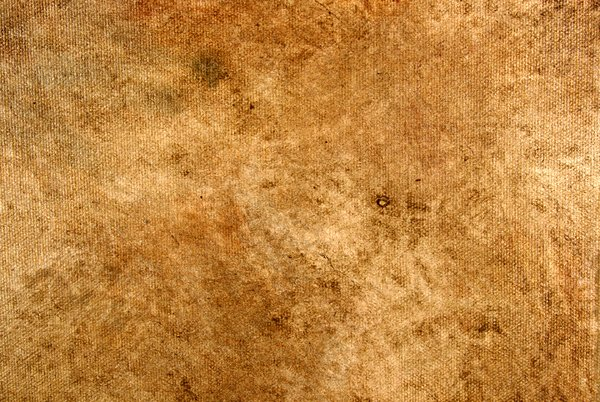 Grungy canvas Texture: A portion of a grungy canvas texture.