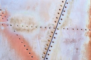 Helicopter texture 4: Rivets and metal panels from an old helicopter.