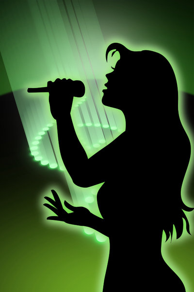 singing girl 1: a musically-themed graphic... hope you find it useful...!