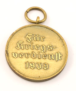 Old german medal: German medal from second world war for military service in 1939