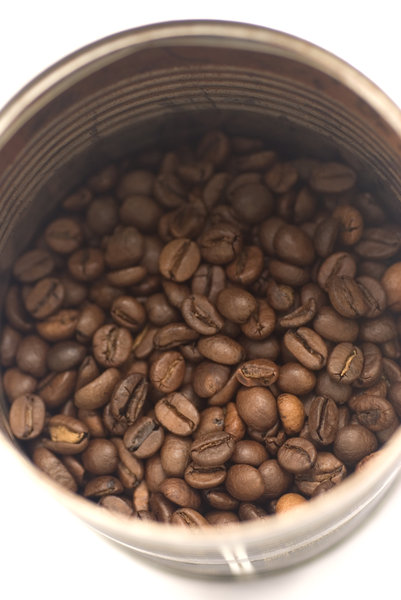 Coffee beans 2: Beans of arabica roasted coffee