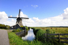 Dutch windmill: Dutch windmill in the