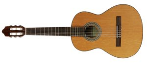 guitar: classic Spanish guitar. A 3/4 model for children.