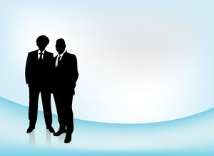 business team - vector 1: