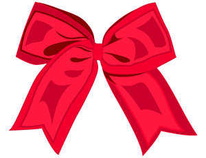 Red Ribbon: Ribbon done with Illustrator