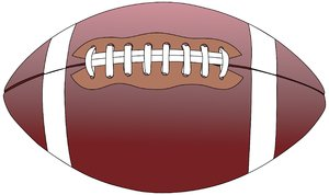 Pigskin: Illustration of a football