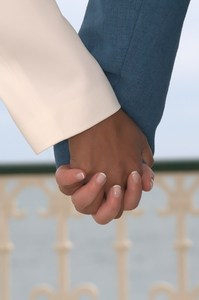 Holding hands: Civil ceremony partnership